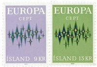 Islande - AFA 462-463 - Neuf