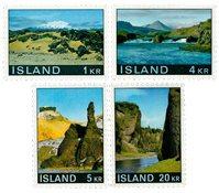 Island - AFA 435-438 - Postfrisk
