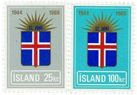 Island - AFA 431-432 - Postfrisk
