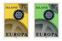 Islande - AFA 410-411 - Neuf