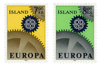 Island - AFA 410-411 - Postfrisk