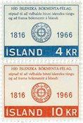Island - AFA 407-408 - Postfrisk