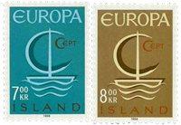 Islande - AFA 405-406 - Neuf