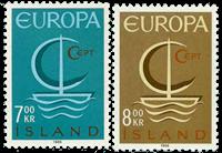 Island - AFA 405-406 - Postfrisk