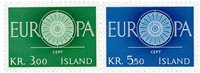 Island - AFA 344-345 - Postfrisk