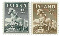 Island - AFA 326-327 - Postfrisk