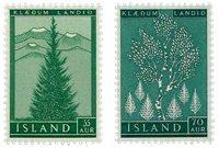 Islande - AFA 321-322 - Neuf