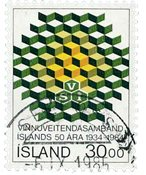 Islande - AFA 620 - Oblitéré