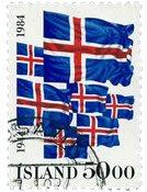 Islande - AFA 616 - Oblitéré