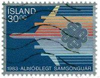 Islande - AFA 605 - Oblitéré