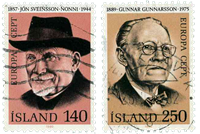 Island - AFA 553-554 - Stemplet