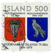 Island - AFA 544 - Stemplet
