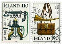 Island - AFA 540-541 - Stemplet