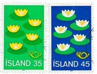 Island - AFA 521-522 - Stemplet