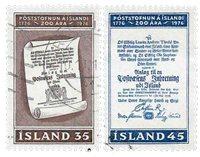 Island - AFA 517-518 - Stemplet