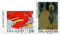 Island - AFA 503-504 - Stemplet