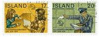 Island - AFA 499-500 - Stemplet