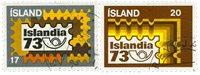 Island - AFA 483-484 - Stemplet