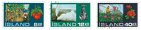 Island - AFA 466-468 - Stemplet