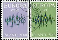 Island - AFA 462-463 - Stemplet