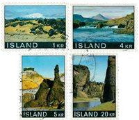 Islande - AFA 435-438 - Oblitéré