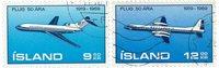 Island - AFA 433-434 - Stemplet