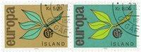 Island - AFA 396-397 - Stemplet