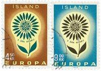 Islande - AFA 386-387 - Oblitéré