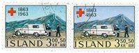 Islande - AFA 376-377 - Oblitéré