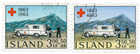 Island - AFA 376-377 - Stemplet