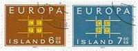 Islande - AFA 374-375 - Oblitéré