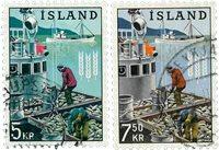 Islande - AFA 371-372 - Oblitéré