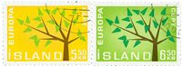 Islande - AFA 365-366 - Oblitéré