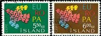 Island - AFA 355-356 - Stemplet