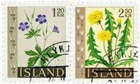 Islande - AFA 346-347 - Oblitéré