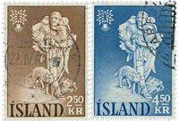 Island - AFA 341-342 - Stemplet