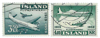 Island - AFA 334-335 - Stemplet