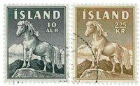 Islande - AFA 326-327 - Oblitéré