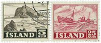 Island - AFA 297-298 - Stemplet