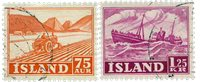 Island - AFA 276-277 - Stemplet