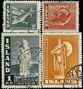 Island - AFA 238-241 - Stemplet