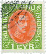 Island - AFA 193 - Stemplet