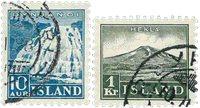 Island - AFA 181-182 - Stemplet