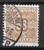 Danmark  - AFA Av. 7 - stemplet