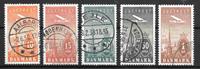 Danmark  - AFA 216-220 - stemplet