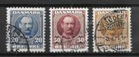 Danemark  - AFA 56a+58+59 - Oblitéré