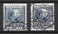 Danimarca  - AFA 48 + 48A - Usata