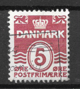 Danmark  - AFA 246x - stemplet