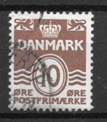 Dinamarca  - AFA  235ax - Usado