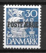 Danmark  - AFA PF 24 - ustemplet